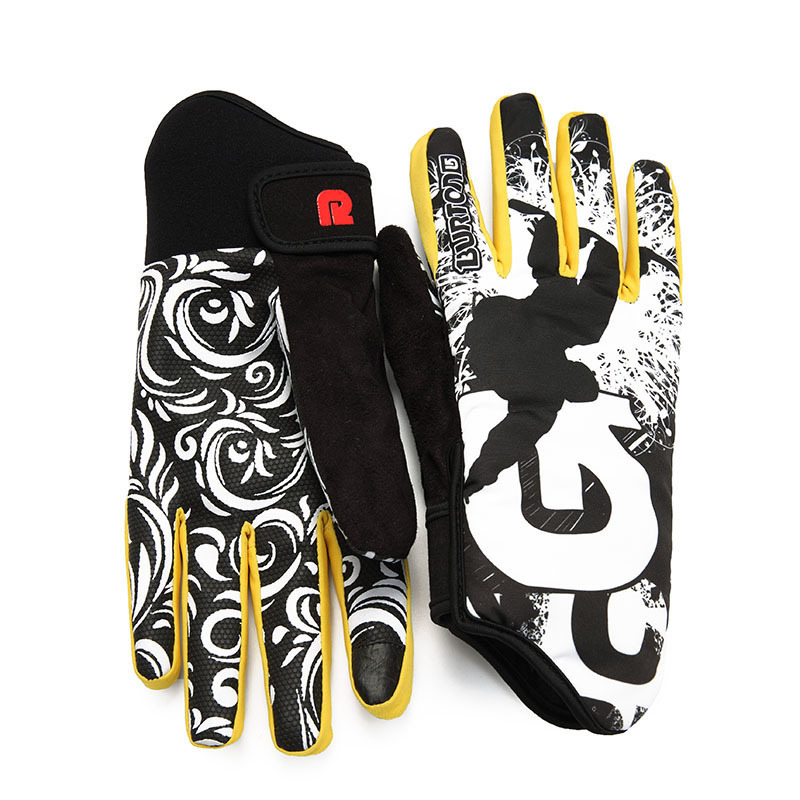 Image Professional Ski Gloves Women Men Nonslip Snowboard Gloves Snowmobile Motorcycle Riding Winter Gloves Windproof Waterproof