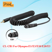 Wireless Remote Control Shutter Release Cable PIXEL CL-CB1 For For Olympus: E1 E3 E5 E10 E20 RW-221 TC-252 TW-282 TW-283 T8 T3