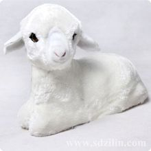 Zilin Manufacturer/ vivid Dolly Sheep Toy , mini and lovely ,ideal as children toy or home decor 25*10*20 cm