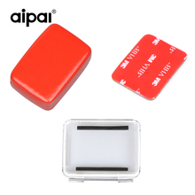 Action Sport Camera Aipal Accessories Waterproof Case Back Door Cover+Buoy Sponge Floaty Box+3M Sticker For Aipal Gopro XiaomiYi