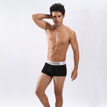 Male cotton boxers panties comfortable breathable men's underwear trunk brand shorts Bodysuit Underpants ropa interior hombre M(China)