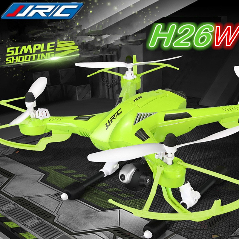 JJRC H26W WIFI FPV RC Quadcopter Drone With 720P Camera 4CH 2.4GHz Headless Helicopter Toy Gift for Adult Boy Kids RTF<br><br>Aliexpress