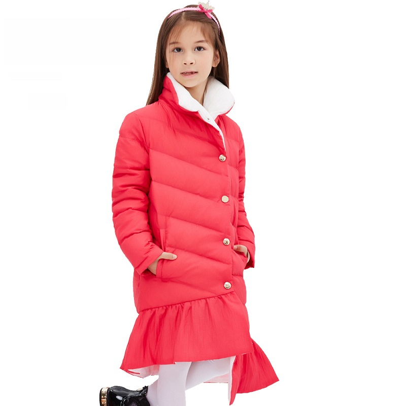 Good quality Girls Winter Jackets Girl Duck Coats 2016 Fashion  Thick Warm Winter Jacket For Girls 6 7 8 9 10 11 12 13 14 years Одежда и ак�е��уары<br><br><br>Aliexpress