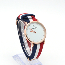 casual dress simple DW women watches nylon band watch Rome fashion ladies watch quartz watch nylon straps Relogio Feminino