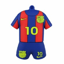 usb flash drive football jerseys meissi Futbol Club Barcelona U Disk 8GB 16GB 32GB 64G usb 2.0 flash drive  pen drive pendrive