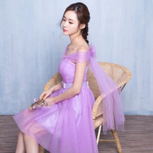 bridmaid short 6 styles beautiful bridemaids party dresses lilac tulle ball dress for bridesmaid to party under 50 S3800