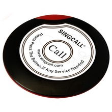 SINGCALL Wireless service calling button,ultrathin single call button for coffee or tea house,restaurant(China)