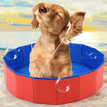 Pet Products Large PVC Foldable Swimming Pool Bathtub For Small Dog And Cat Teddy Fold Bath Dog Accessories Best Sell(China)