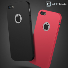 CAFELE Case For Iphone 5S Iphone 5 Case 5S Luxury Soft TPU Matte Silicone Back Cover Case For Apple Iphone 5S Coque For Iphone 5