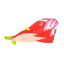 Best Selling Lightweight Kite Dolphin Pattern Kites Kids Toy Gift Beach Holiday Dolphins Kites Flying Higher Big Kites