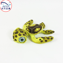 2016 39# turtle stuffed toy with big eyes plush animal turtle figure toy factory sale
