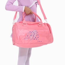 Baby Child Toddler Embroidery Pink Cute professional messenger Bag kids ballet bag Casual bag birthday gift girls travel bag