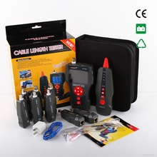 New NF-8601W Multi-functional Network Cable Tester LCD Cable length Tester Breakpoint Tester English version(China)