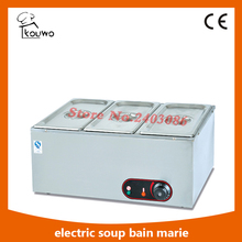 Table Counter Top Stainless Steel Commercial Electric Buffet Hot Soup Food Warmer Bain Marie For Sale,High Quality Bain Marie(China)
