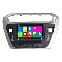 Navitopia Car Video Player 7inch Car GPS Navigation For Peugeot 301 Elisee 2013 Stereo Radio Auto Electronics In Dash 2 DIN DVD(China)