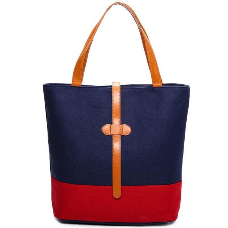 Women Famous Brands Shoulder Bag Large Tote Bag Canvas Shopping Bags Handbags Bolsa Feminina Bolsos Mujer De Marca Famosa 2017<br><br>Aliexpress