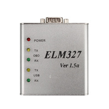 ELM327 1.5V USB CAN-BUS Scanner Software V2.1 English/Russian ELM327 Metal obd2 obdii Auto Diagnostic Tool(China)