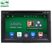 GreenYi 1024x600 Octa Core Android 6.0.1 Car DVD Player Fit Peugeot 3005 3008 5008 2008-2012 GPS Navigation TV 4G Stereo Radio