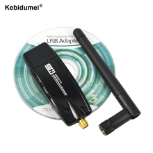 Newest Mini USB 2.0 wi-fi wi fi Wifi Router 2.4G 300Mbps Wireless Adapter 300M Computer LAN Card Antenna Realtek 8191 For Laptop(China)