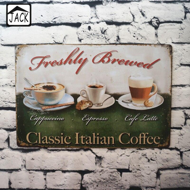 Vintage Italian Cafe Decoration PromotionShop for Promotional