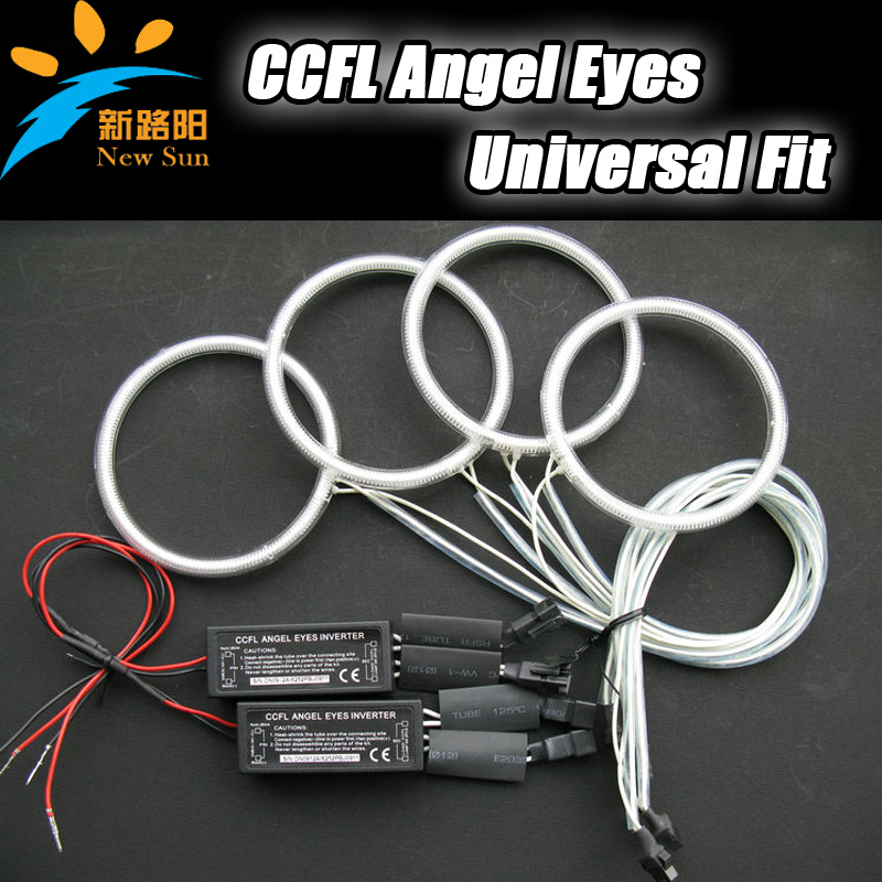 For Universal Use CCFL Angel Eyes ring size 72mm, 75mm,80mm 105mm 115mm etc. Super bright universal ccfl halo ring headlights<br>