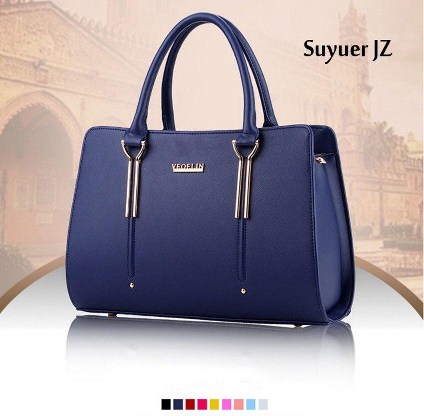 2017 New Solid Bags Women Exquisite Elegant Handbags Ladies Girls Fashionable Sweet Shoulder Messenger Handbag 9 Colors<br>