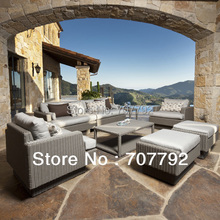 New design outdoor poly rattan patio furniture(China)