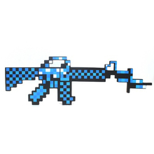 Newest 2016 Minecraft Toys Minecraft Sword Gun EVA Model Toys EVA Minecraft Game Action Figures Children's Toys Christmas Gifts(China)