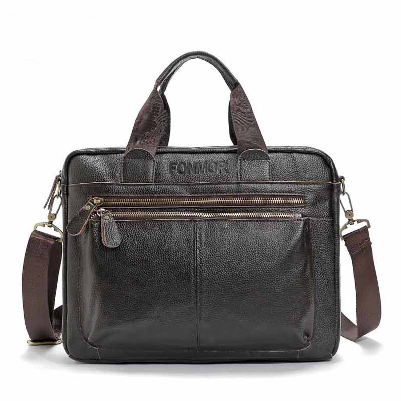New Fashion Handbag Men Briefcase Men PU Leather Business Bag Mens Handbag Male Shoulder Messenger Bags High Quality Men Bags<br>