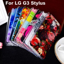 AKABEILA Soft TPU Plastic For LG D960 Phone Case For LG G3 Stylus D690 D690N 5.5 inch Cover Shell Bags Hoodss Bag phone(China)