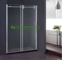 Shower Room best price Whole Shower 304 stainless steel Complete Square Cheap Shower Straight 8/10Mm Glass Door(China)