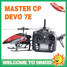 Walkera Master CP Flybarless 3D rc helicopter With DEVO 7E