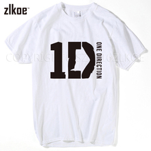 2017 t shirt Rock Band One Direction t shirt Teenages One Direction 1D fitness gothic men mens t shirts
