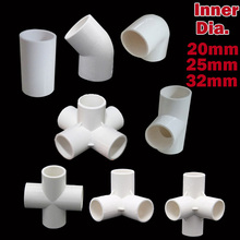 Joints DIY Shelves /wardrobes /nursery production Plastic fittings balloon arch column connectors inner Dia 20mm /25mm /32mm(China)