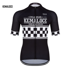KEMALOCE sale brand high visibility team cycling clothing jersey for men athletic sports pro team unique bicycle bike wear(China)