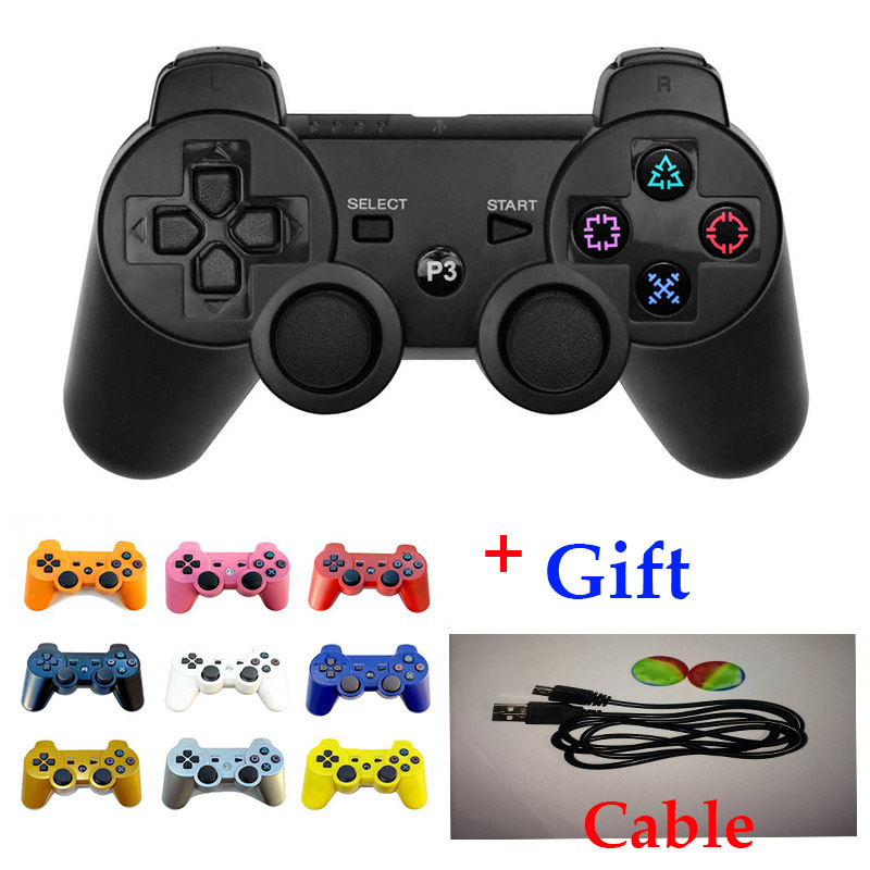 New for SONY PS3 Controller Wireless Bluetooth Joysticks for DUALSHOCK 3 SIXAXIS for PlayStation 3 Game Controller(China (Mainland))