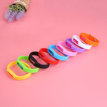 Anti Mosquito Bug Repellent Wrist Band Bracelets Insect Nets Lock Multicolor