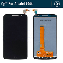 Full LCD display+touch screen digitizer assembly For Alcatel One Touch Pop 2 Premium 7044 OT7044