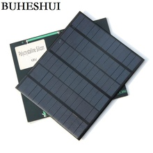 BUHESHUI 3.5W 18V Polycrystalline Solar Cell Solar Panel For Battery Charger/DIY Solar Charger 165*135*3MM 5pcs Free shipping(China)