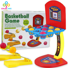 Kid Toys Mini Basketball Toy Basketball Stand Family Table Game Interactive Competition Toys Gifts For Children