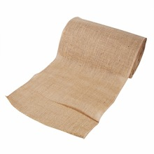 10Yards 30cm Burlap Table Runner Flaxen Rustic Decor Wedding Hessian Party Table Runner Wedding Festival Feast Decoration