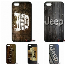 2017 Car Jeep Wrangler Compact sport Logo Phone Case For iPhone 4 4S 5 5C SE 6 6S 7 Plus Galaxy J5 J3 A5 A3 2016 S5 S7 S6 Edge