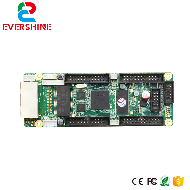 RV907 LED full color display receiving card synchronous controller system for indoor and outdoor<br>
