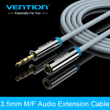 Vention Jack 3.5 mm Male to Female Stereo Aux Cable Extension Cable 1m For Headphone/PC/DVD/TV/Car Audio Cable