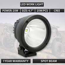 "Led driving light 9-32V 25w Led work light 5"" Cannon Led driving light SM6251 used for car truck suv atv ute 25W round lights"