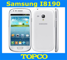 Samsung Galaxy S3 mini i8190 Original Unloced GSM 3G Dual-core mobile phone 4.0'' WIFI GPS 5MP 8GB Smartphone Free shipping