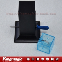 Sword Through Ring/magic sword/close up magic/magic toys/Free shipping