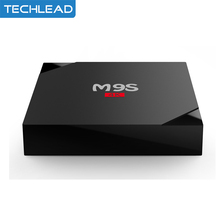 2pcs/lot M9S V5 Smart TV Box Android 6.0 RK3229 Quad Core Network Media Player 1GB 8GB 4K 2.4G WIFI Set Top Box Miracast DLAN