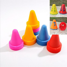 20pcs Football Training Equipment Stadium Marking Agility training Marker Skating Marking Cones Freestyle Slalom Skate Pile cup