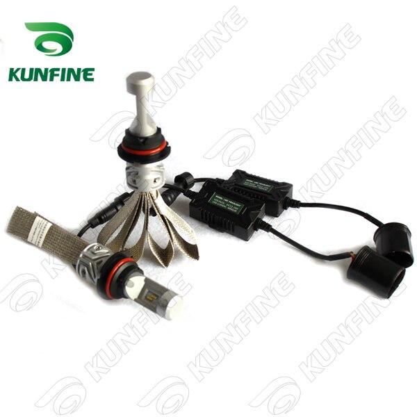 12V-24V 72W Car LED Headlights High/Low 9007 Bulb Car Fog Lamp Track HeadLight Lamp 8000LM<br>